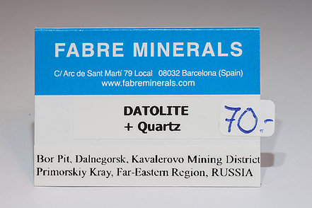 Datolite with Quartz