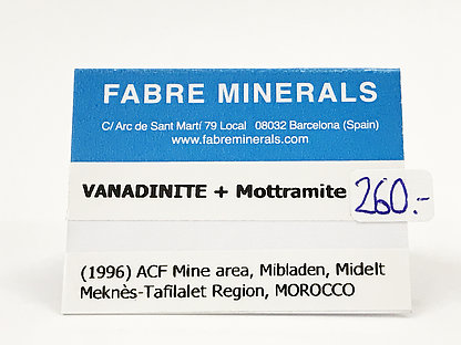 Vanadinite with Mottramite